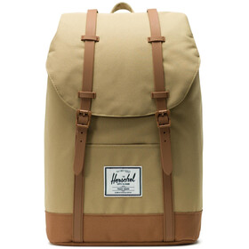 Herschel Retreat Zaino beige/marrone
